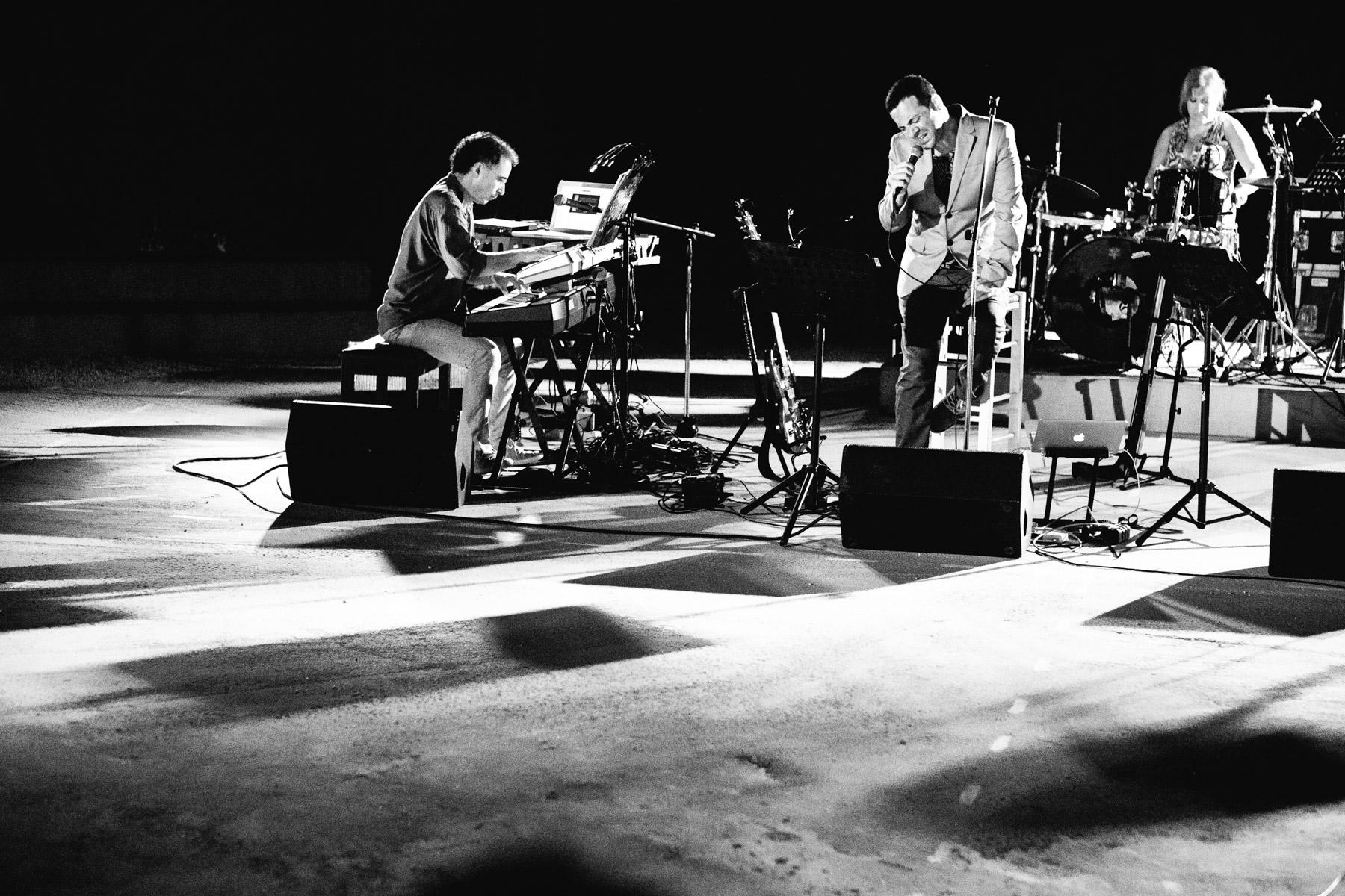Elli Paspala, Vassilikos, David Lynch and Takis Farazis – Play / Paros Park, Paros, Greece