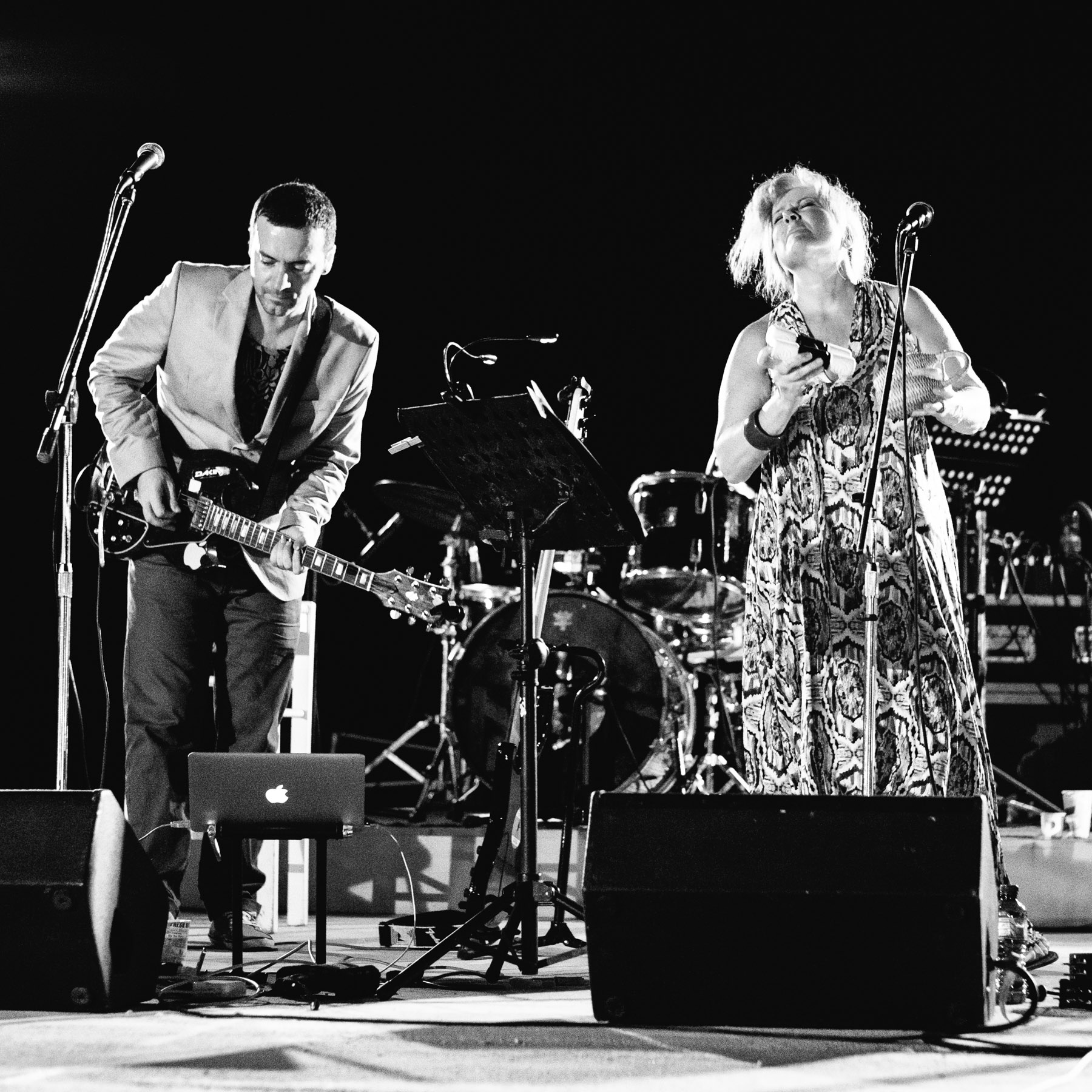 Elli Paspala, Vassilikos, David Lynch and Takis Farazis – Play / Paros Park, Paros, Greece